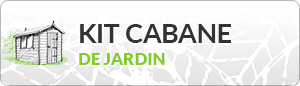 Kit cabane de jardin autonome