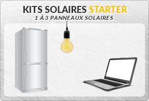 Kit solaire petite puissance 1 à 3 panneaux