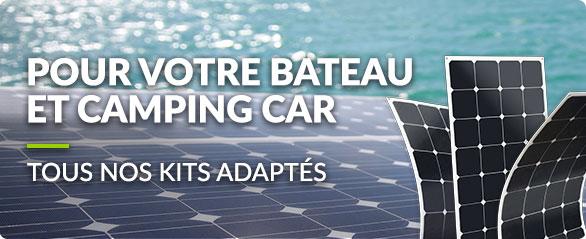 Kit solaire autonome avec batteries